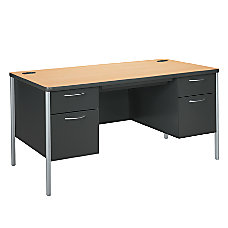 HON Mentor Single Pedestal Desk 29