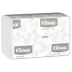Kleenex Professional 50percent Recycled Embossed Hand