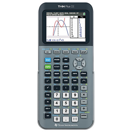 The TI Plus is an easy-to-use graphing calculator for math and science. Ideal for algebra through pre-calculus, plus powerful statistics and finance features. Offers flash technology to upgrade/5().