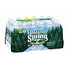 Poland Spring Water 169 Oz Bottles