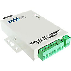 AddOn Serial RS485RS422 to Fiber SMF