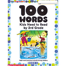 Scholastic 100 Words Grade 3 8