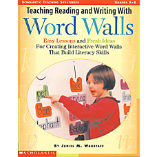 Scholastic Teaching ReadingWriting Word Wall