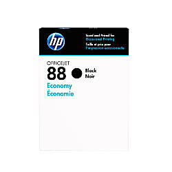 HP 88 Economy Yield Black Ink