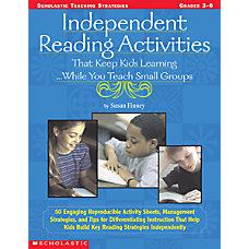 Scholastic Independent Reading Activities