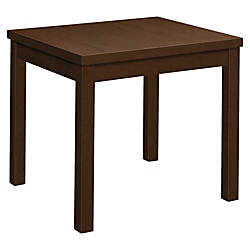 HON Laminate Occasional Straight Table 24L