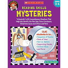 Scholastic Reading Skills Mysteries