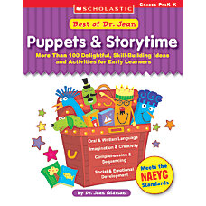 Scholastic Dr Jean PuppetsStorytime