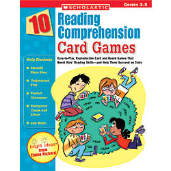 Scholastic Reading Comprehension Card Games