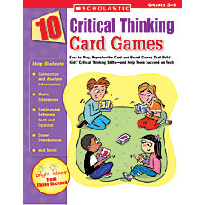 Scholastic Critical Thinking Games