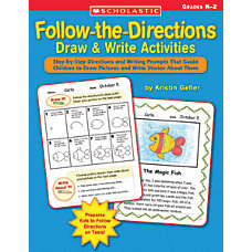 Scholastic Follow Directions DrawWrite