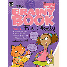 Thinking Kids Brainy Book For Girls