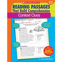 Scholastic Comprehension Context Clues Grades 2