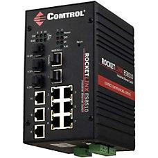 Comtrol RocketLinx ES8510 XTE Ethernet Switch