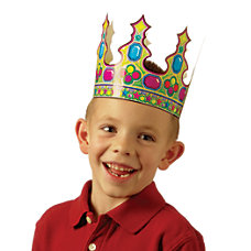Scholastic Die Cut Crowns Pack Of