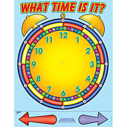 Scholastic Practice Chart Alarm Clock 17