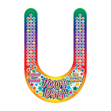Scholastic Colorful Visors 100th Day Pack