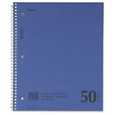 MeadWestvaco Mid Tier Notebook 50 Sheets