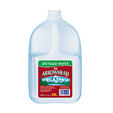 Arrowhead Distilled Water 128 Oz Bottles