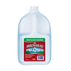 Arrowhead Distilled Water 128 Oz Bottles