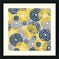 Amanti Art New Circles 1 Framed