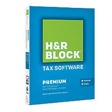 H R Block Tax Software Premium