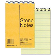 Rediform National Wirebound Steno Notebook 60
