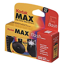 Kodak Max One Time Use Camera
