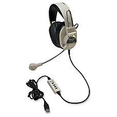 Califone 3066 USB Deluxe Binaural Headset