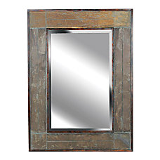 Kenroy Home Wall Mirror White River