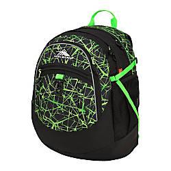 High Sierra Fatboy Backpack Digital WebLime