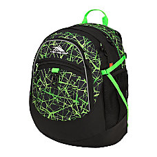 High Sierra Fatboy Backpack Digital WebLime