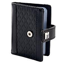 ie Snap Business Card Wallet Black
