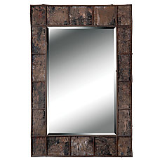 Kenroy Home Wall Mirror Birch Bark