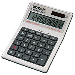 Victor TUFFCALC 12 Digit Calculator
