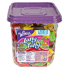 Wonka Laffy Taffy Assorted Tub 308
