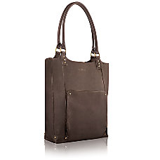 Solo Ladies Leather Laptop Tote For
