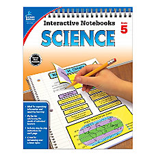 Carson Dellosa Interactive Notebooks Science Grade
