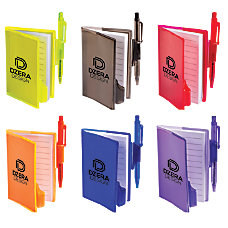 Clear View Mini Notebook