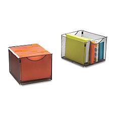 Safco Onyx Mesh Cube Bin External