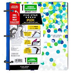 Five Star Flex Hybrid NoteBinder 1