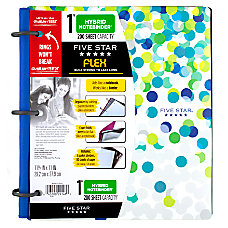 Five Star Flex NoteBinder 1 Rings