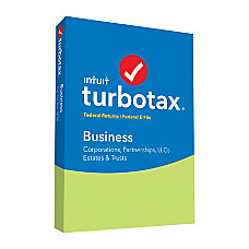 TurboTax Business 2016 For PC Traditional
