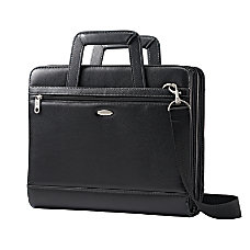 Samsonite Vinyl 3 Ring Padfolio Black