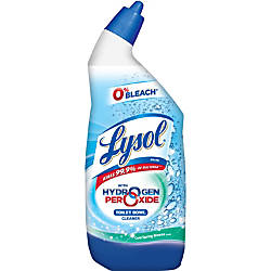 Lysol with Hydrogen Peroxide Toilet Bowl