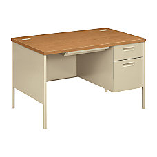 HON Metro Classic Single Pedestal Desk
