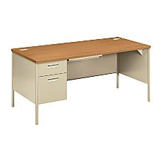 HON Metro Classic Desk Single Left