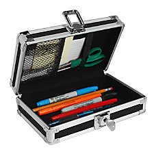 Vaultz Locking Pencil Box Assorted Colors