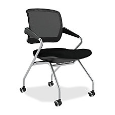 Mayline Valore MeshFabric Nesting Training Chair