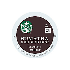 Starbucks Sumatra Coffee K Cups 04